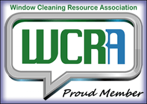 Proud member of the Window Cleaning Resource Association