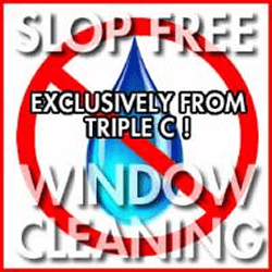 New Jersey's only Slop free interior window cleaning