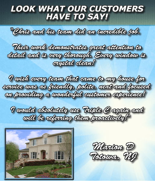 Window Cleaning Testimonial 1