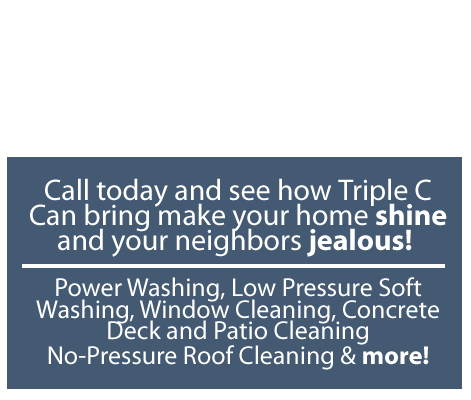 Power Washing and Pressure Washing in Morris County NJ